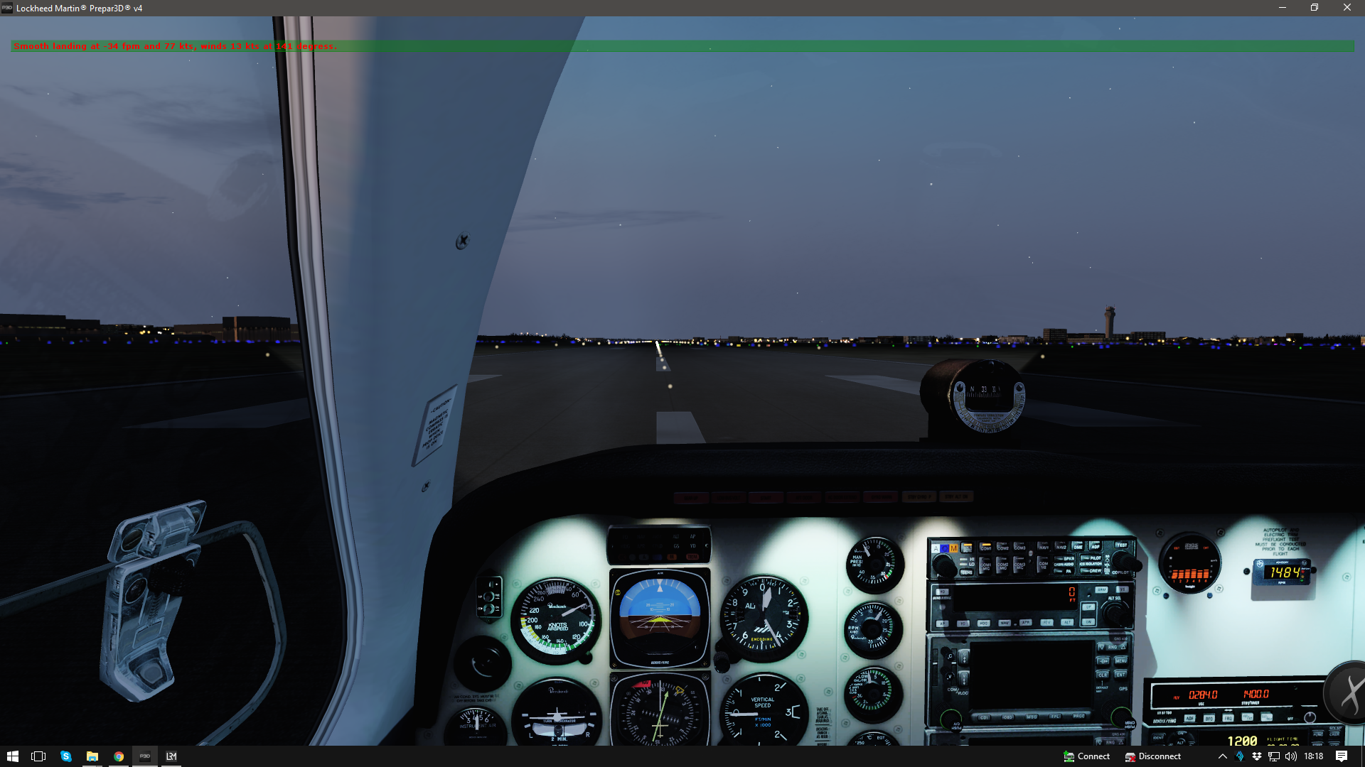 LRM - A landing rate monitor tool for FS2004, FSX, FSX-SE